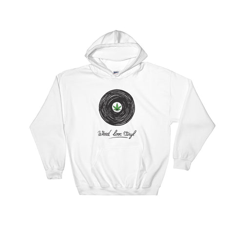 """Weed Love Vinyl"" Hooded Sweatshirt"