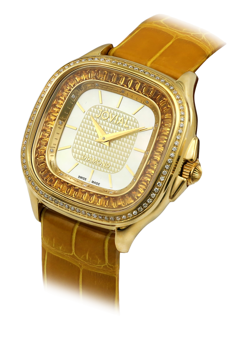113 LGLQ 68D - 38MM DIAMOND WATCH