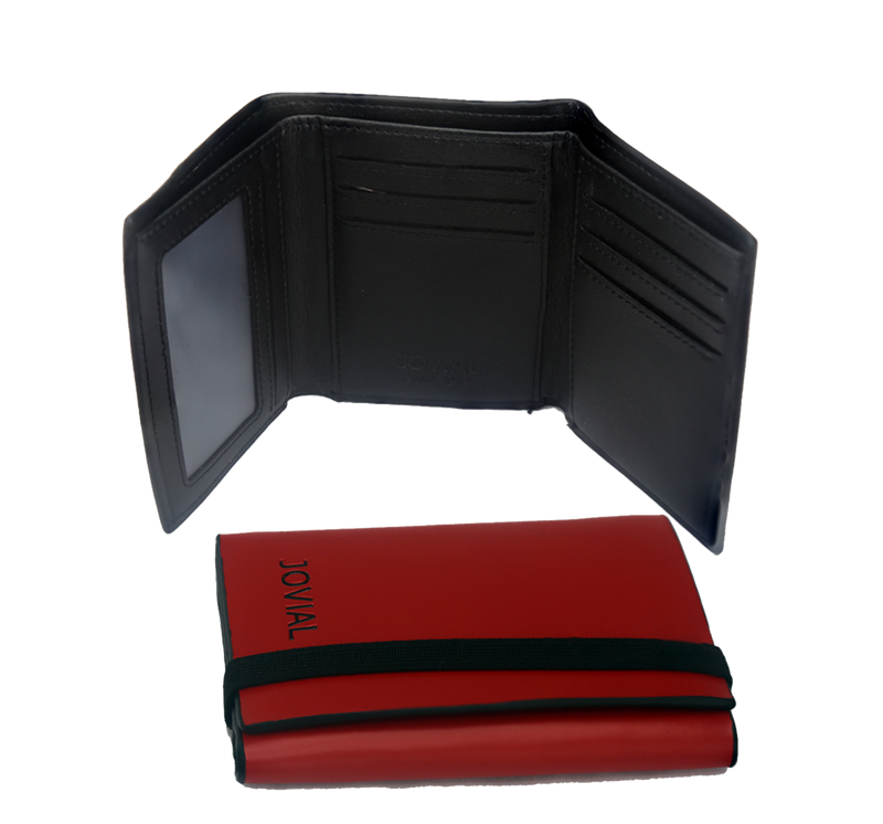 JOVIAL Wallet JO-7007RD Gents Genuine Leather