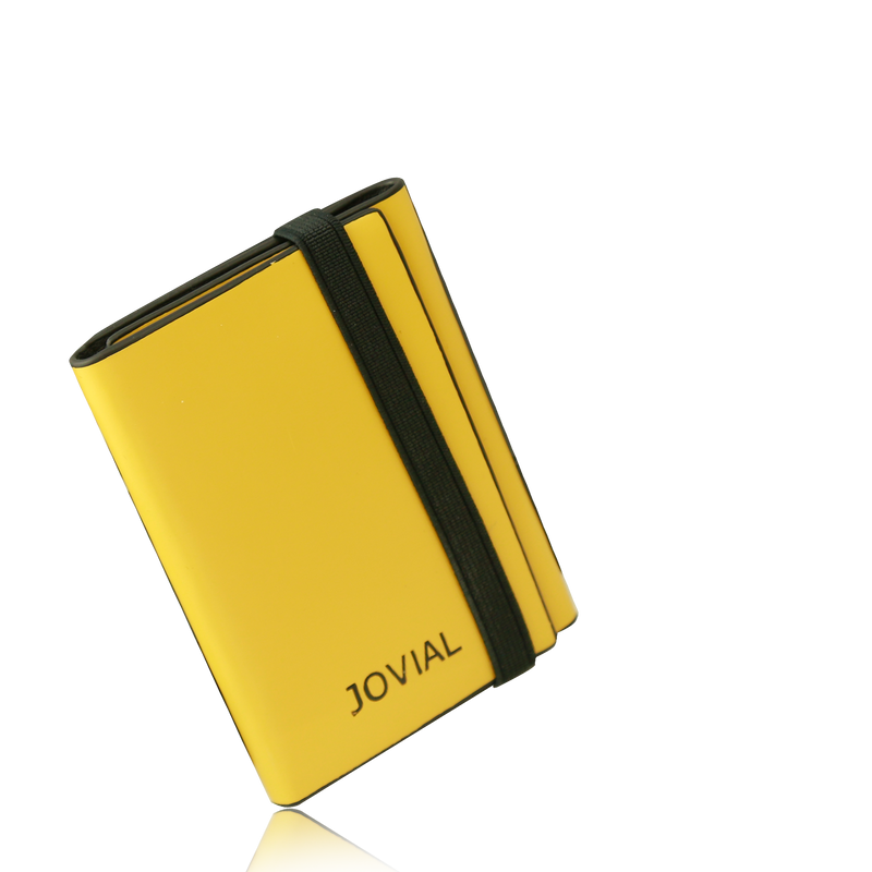 JOVIAL Wallet JO-7007YELLOW Gents Genuine Leather
