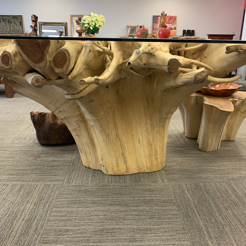 Square Root Dining Table 63""