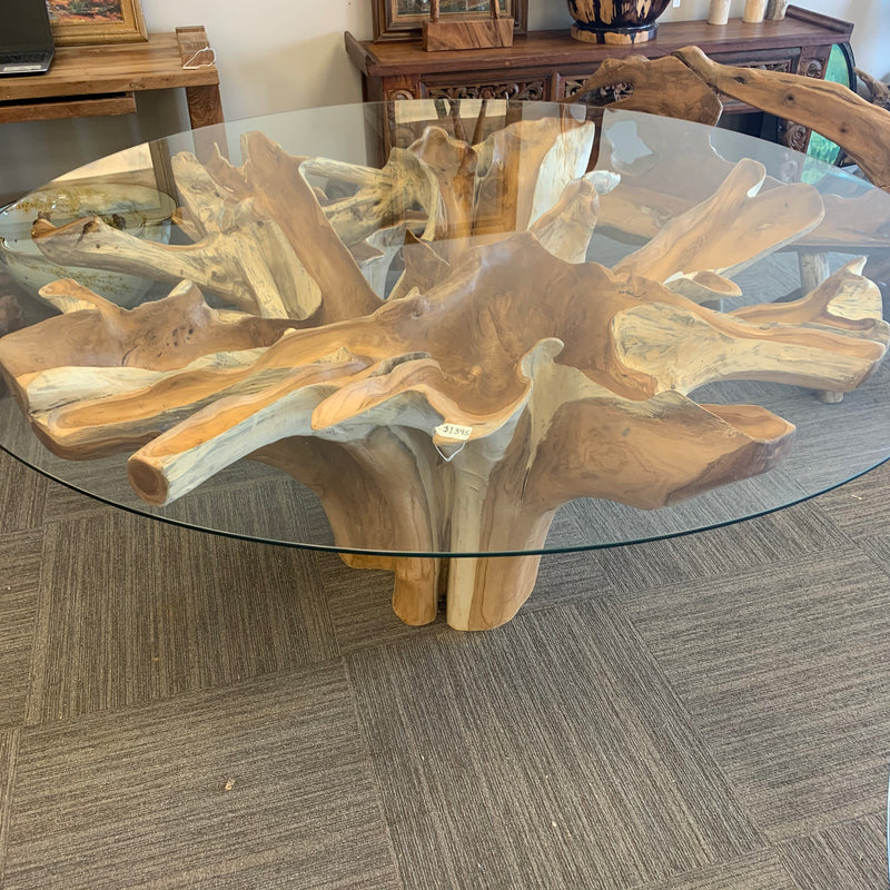 Round Root Dining Table 67""