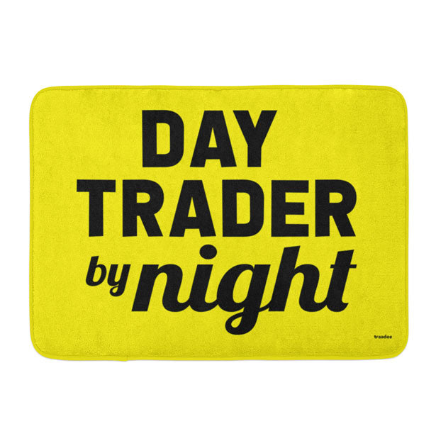 Day Trader By Night - Bath Mat