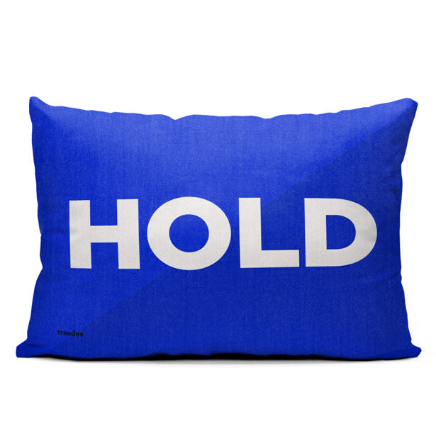 Hold - Throw Pillow