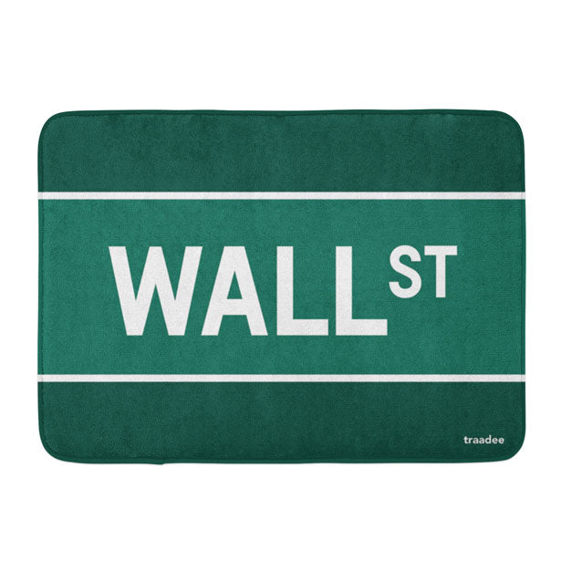 Wall St - Bath Mat
