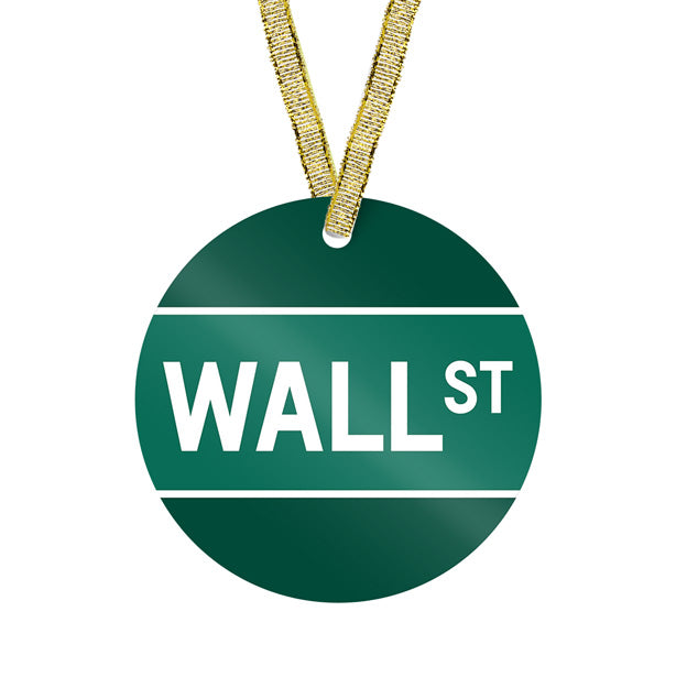 Wall St - Ornament
