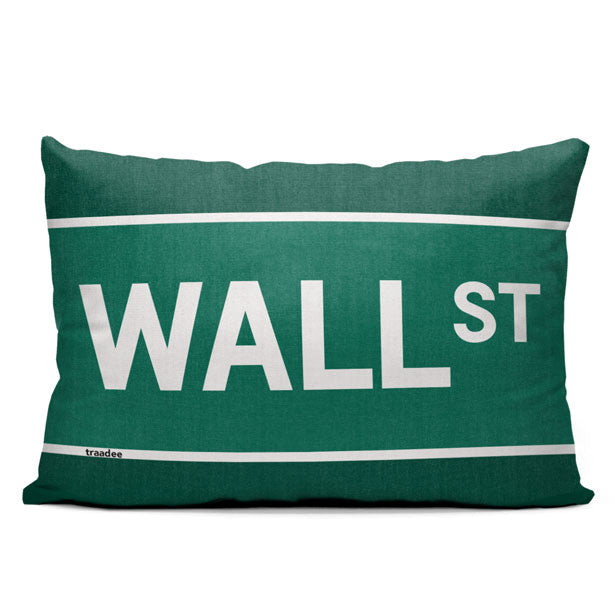 Wall St - Throw Pillow