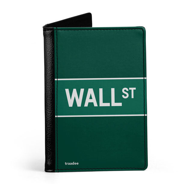 Wall St - Passport Cover