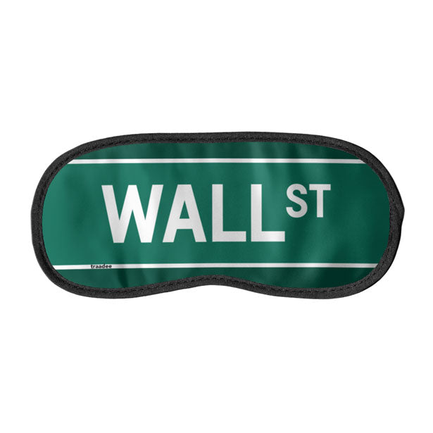Wall St - Sleep Mask