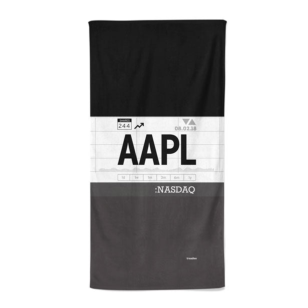 AAPL - Beach Towel
