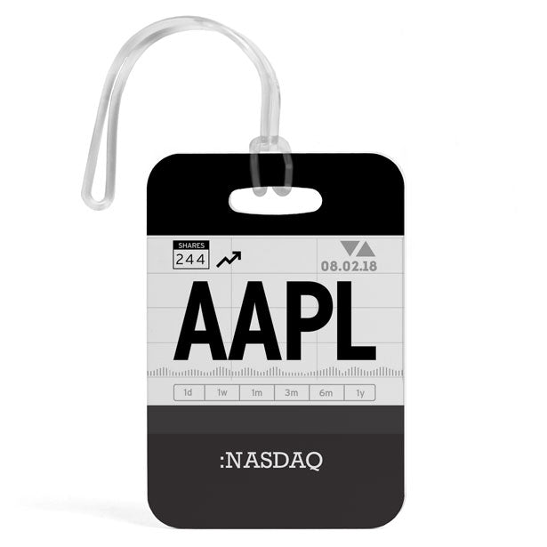 AAPL - Luggage Tag