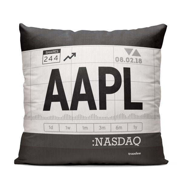 AAPL - Throw Pillow