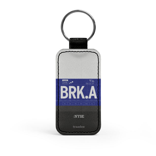 BRK.A - Leather Keychain