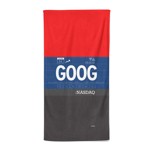 GOOG - Beach Towel