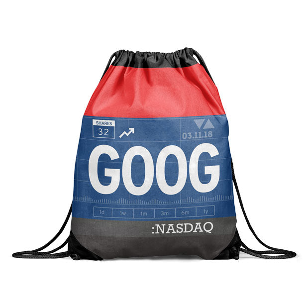 GOOG - Drawstring Bag