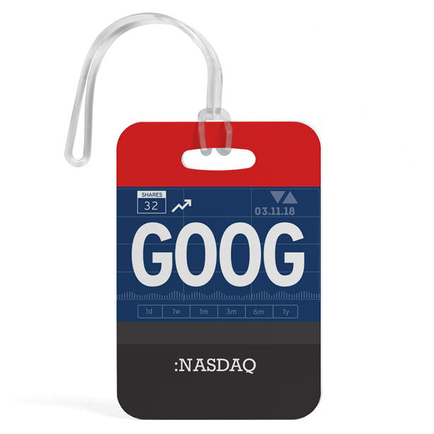 GOOG - Luggage Tag