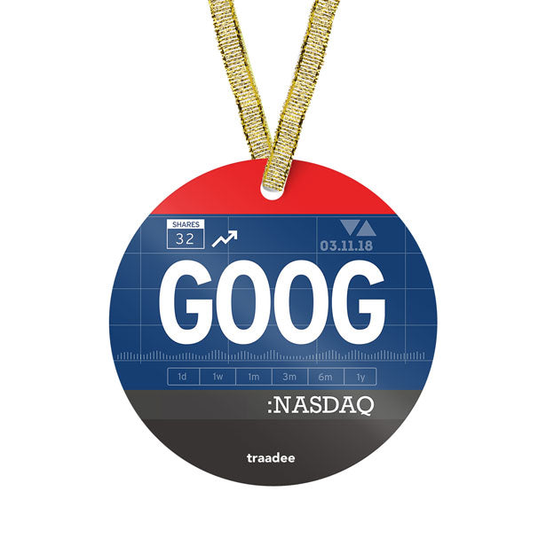 GOOG - Ornament