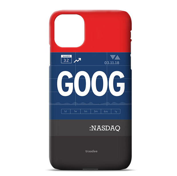GOOG - Phone Case