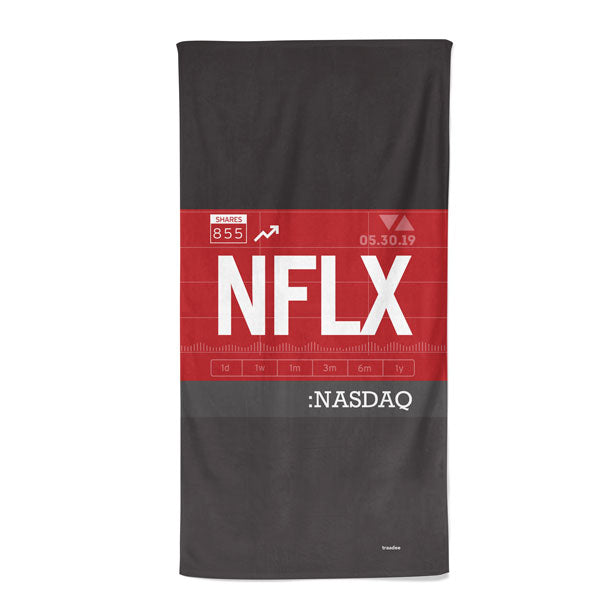 NFLX - Beach Towel