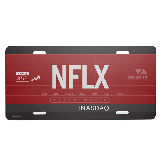 NFLX - License Plate