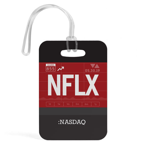 NFLX - Luggage Tag