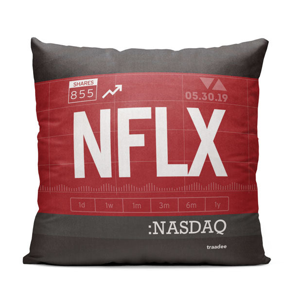 NFLX - Throw Pillow
