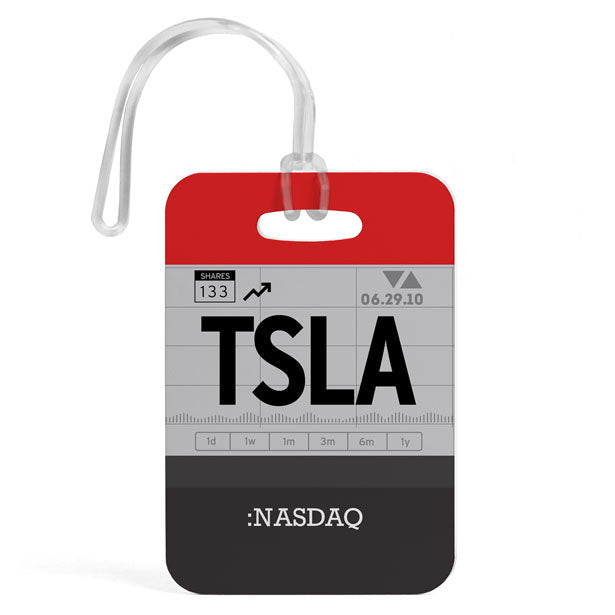 TSLA - Luggage Tag
