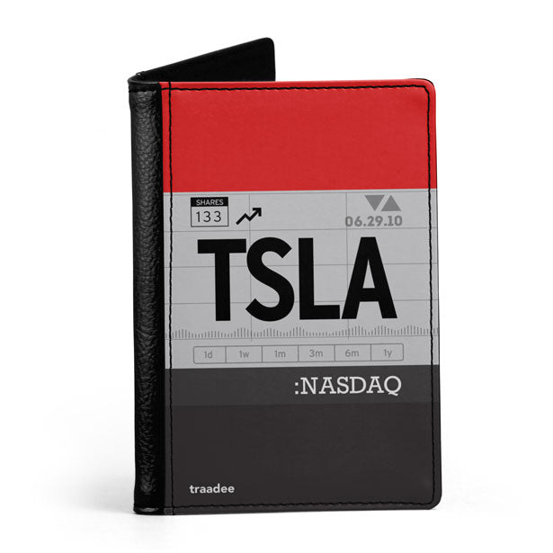 TSLA - Passport Cover