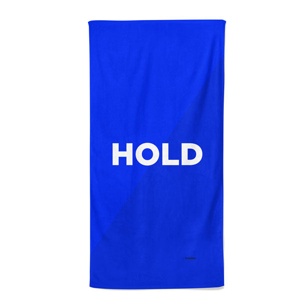 Hold - Beach Towel
