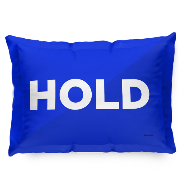 Hold - Pillow Sham