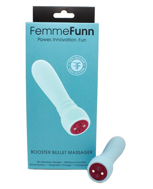 Femme Funn Booster Bullet Vibrator Light Blue
