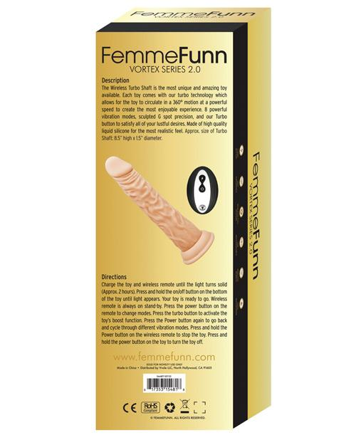 Femme Funn Turbo Shaft 2.0 Wireless Dildo Vibrator