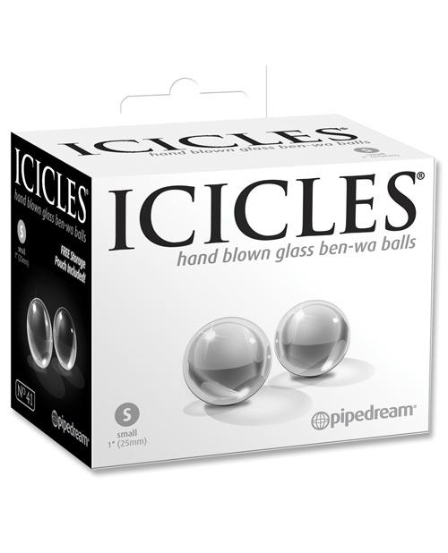 Icicles No. 41 Small Glass Ben Wa Balls