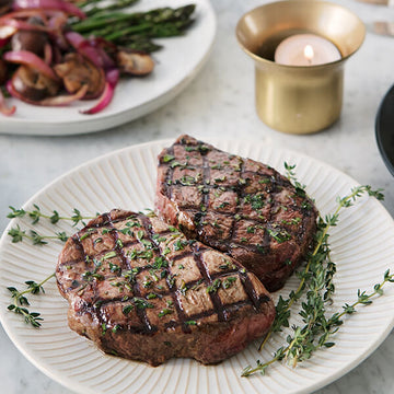 2 Pack of Grilled Grass-Fed Top Steak