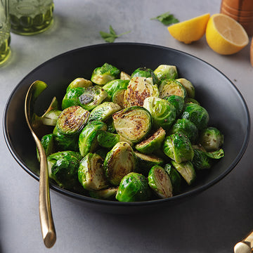 2 Servings of Lemon-Pepper Brussels Sprouts
