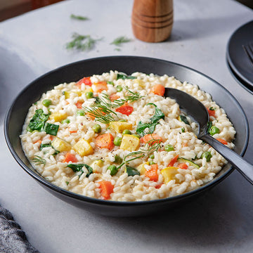 2 Servings of Creamy Parmesan Risotto