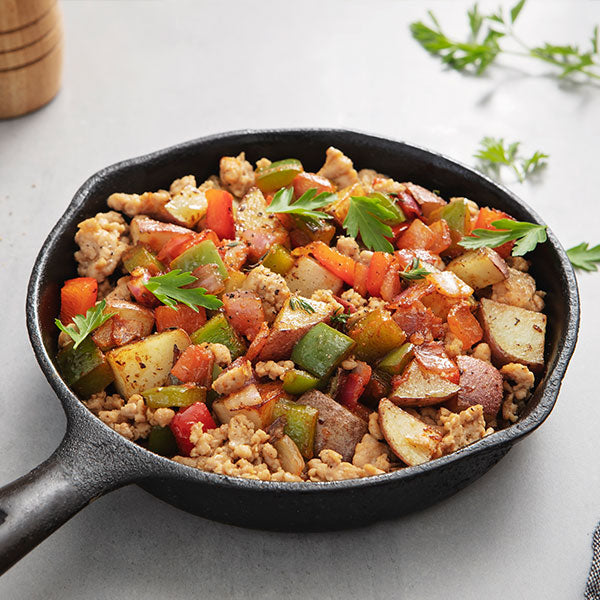 Breakfast Chicken Sausage Hash
