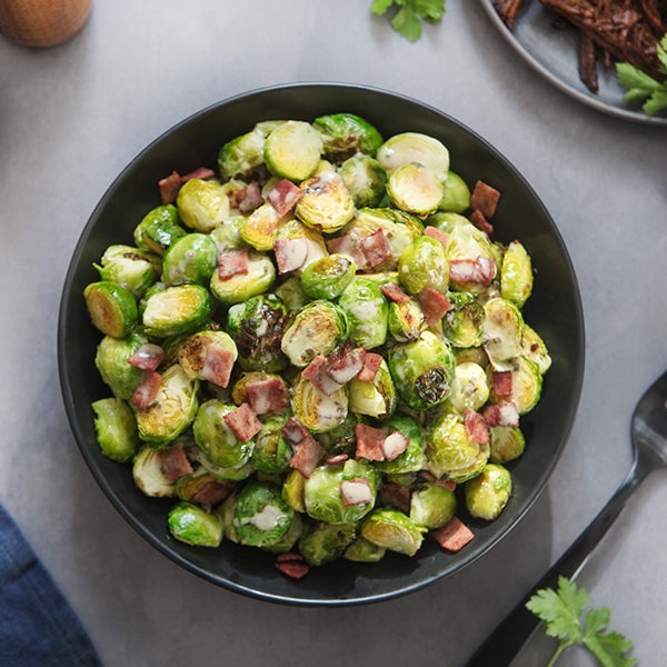 2 Servings of Bacon-Ranch Brussels Sprouts
