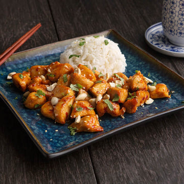 Kung Pao Chicken with Jasmine Rice