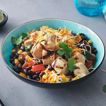 Chicken and Black Bean Burrito Bowl