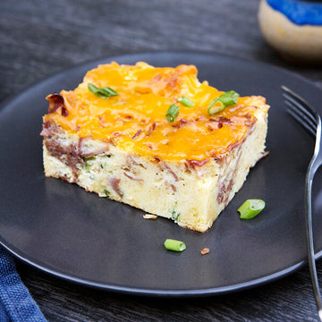 Low Country Cornbread Breakfast Casserole