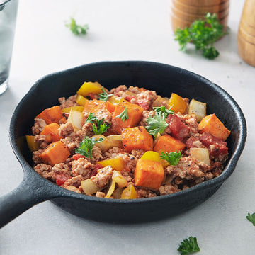 Organic Free-Range Turkey And Sweet Potato Skillet