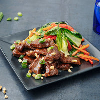 Grass-Fed Beef Stir-Fry with Thai Peanut Sauce