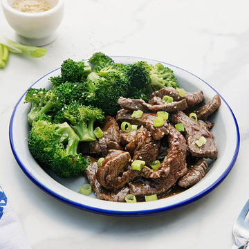 Teriyaki Grass-Fed Beef and Broccoli