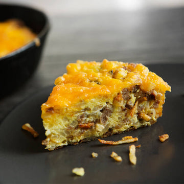 Cheesy Baked Hash Brown Breakfast Casserole