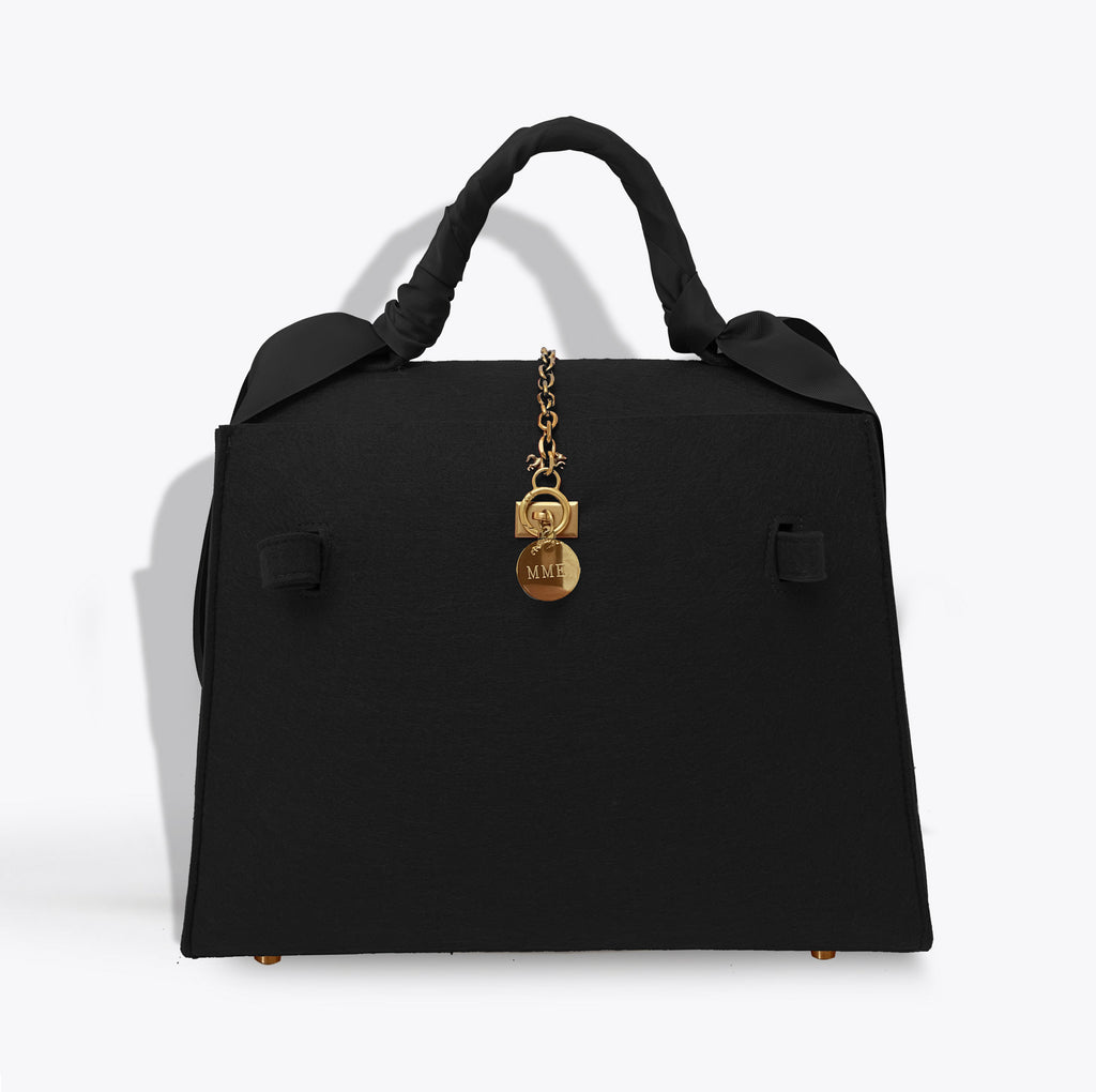 THE BRUNCH TOTE LADY Bag in Noir