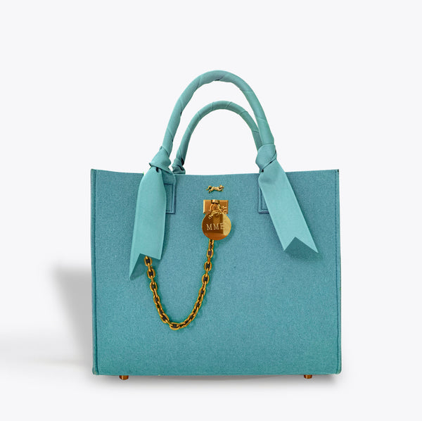 "THE BRUNCH TOTE in ""TIFFANY"" Tote"