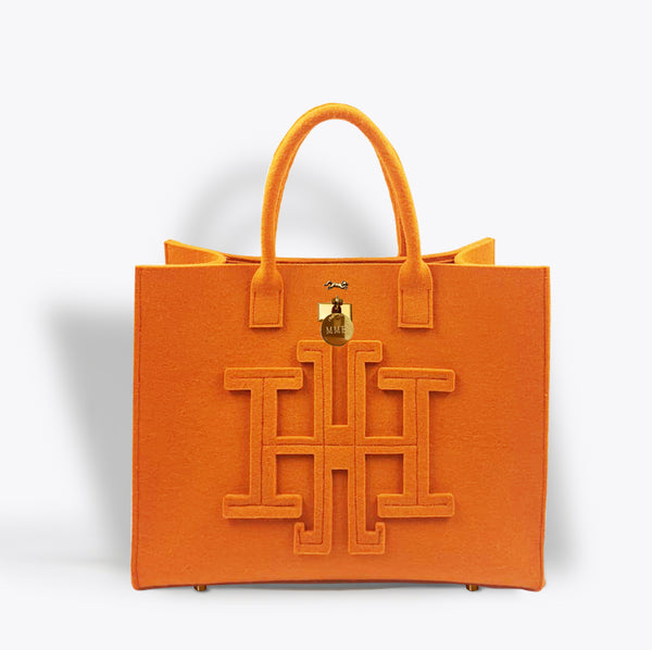 "BRUNCH AT MADISON PARK TOTE ""CLEMENTINE"" GRAND"