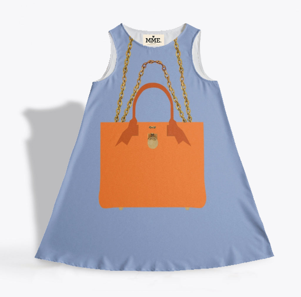 The BRUNCH TOTE Dress in Blue