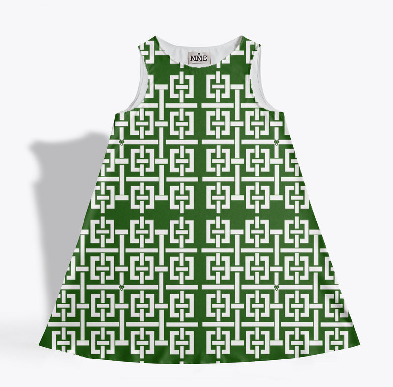 LADYJANE Dress in Hedge Green